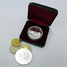 記念金貨銀貨一式