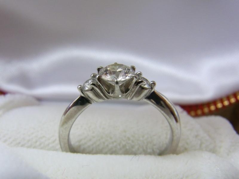 ダイヤモンド0.4ct付鑑定書あり プラチナ買取 さいたま市