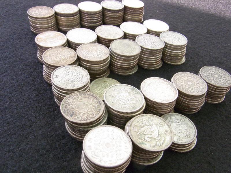 鳳凰百円銀貨 稲穂百円銀貨 オリンピック百円銀貨