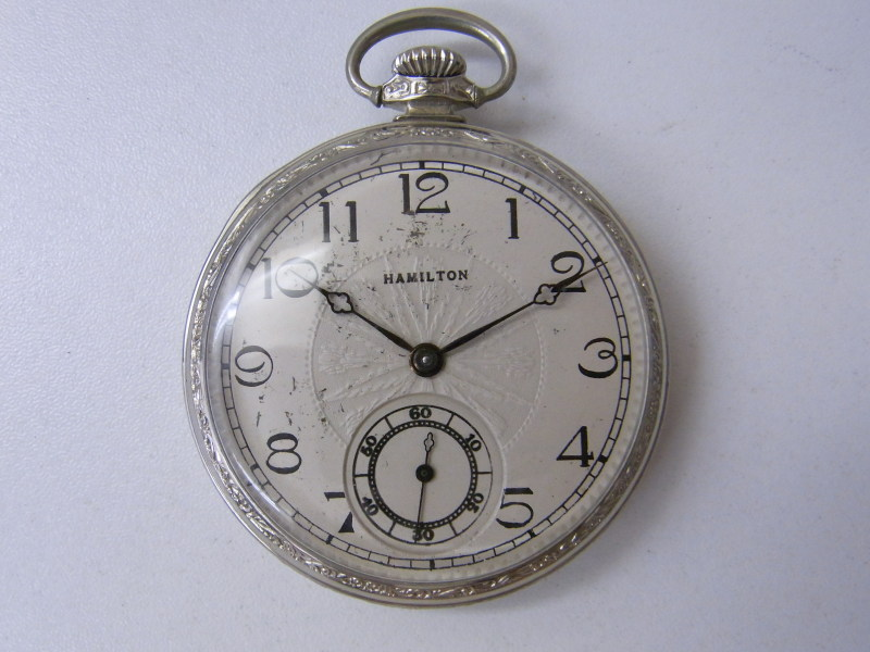 ハミルトンの懐中時計 買取 さいたま市