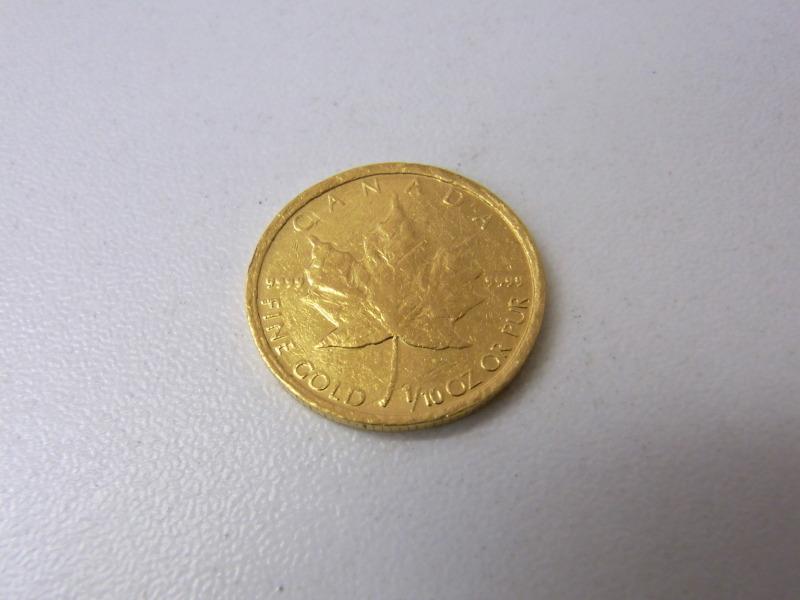 カナダメイプルリーフ金貨 買取 さいたま市