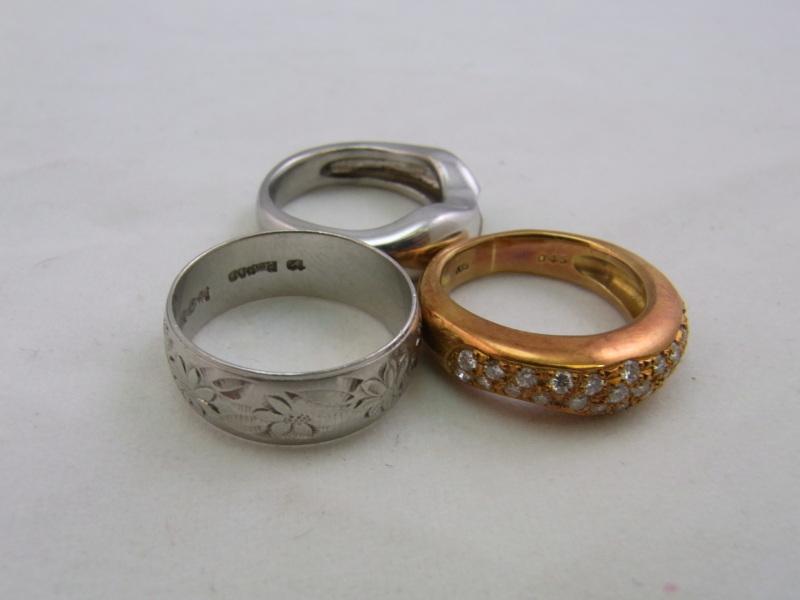 K18PT900のリング 買取 さいたま市
