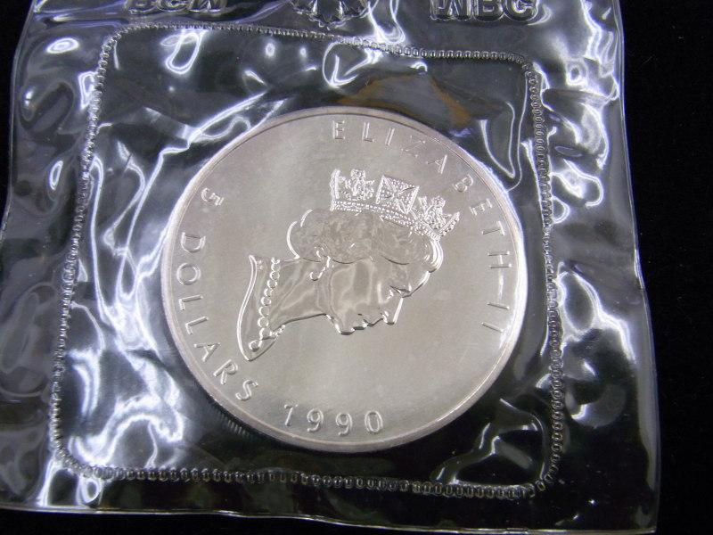 メイプルリーフ銀貨 表