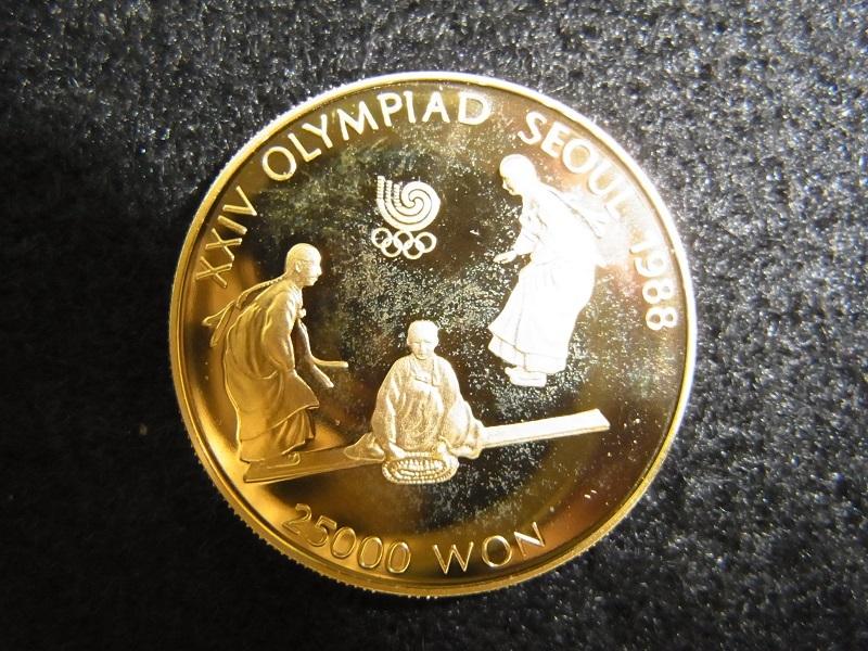 オリンピック金貨 買取り
