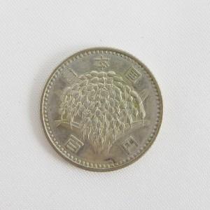 稲100円銀貨