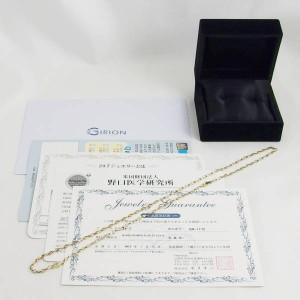 ギリオン K18YG/K18PG ネックレスブレスレット 24-7
